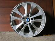 Литые диски б/у стояли на BMW X3 F25 в очень хорошем состоянии 5 шт.